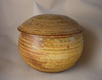 Round Lidded Jar